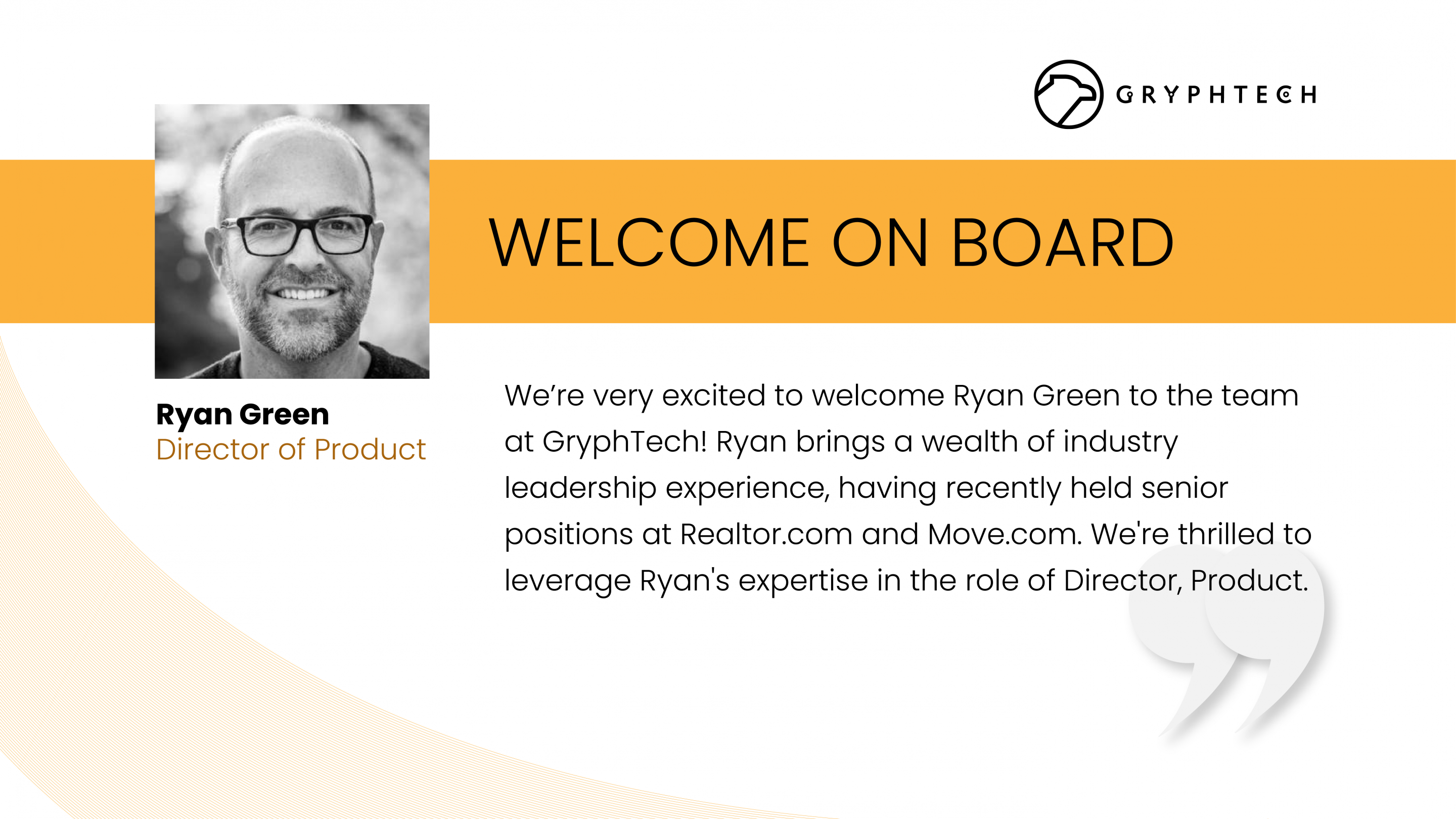 Welcome to GryphTech Ryan