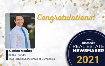 Carlos Matias Selected as a 2021 Real Estate Newsmaker by RISMedia
